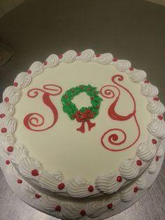 Dairy Queen - Build a Cake Christmas Cake Decorations, Christmas Cakes, Christmas Sweets, Holiday Cakes, Christmas Goodies, Christmas Recipes, Holiday Baking, Christmas Baking, Cupcake Cakes