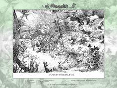 Moomin by iricolor.deviantart.com on @deviantART