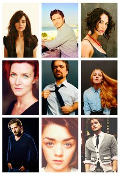 Game of Thrones Cast-Beautiful People Best Series, Tv Series, Game Of Throne Actors, Game Of Thrones Cast, I Love Games, Richard Madden, My Sun And Stars, Valar Morghulis, Valar Dohaeris