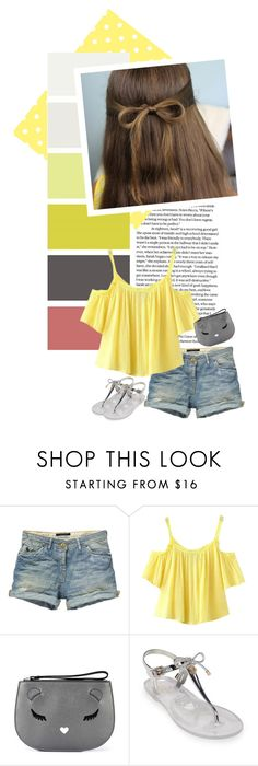 """""""We all scream for ice cream"""" by takemetotheburrow ❤ liked on Polyvore featuring Scotch & Soda, Chicnova Fashion, Furla and Kate Spade"""