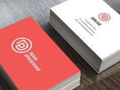 Business card Dutch Playground by Mike van der Mark