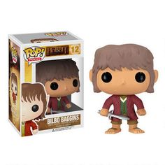 The Hobbit: An Unexpected Journey Bilbo Vinyl Pop! Figure