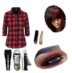 """""""Plaid"""" by taylorgarnett on Polyvore featuring Chanel, Converse, men's fashion, menswear, plaid and WardrobeStaples Fashion Menswear, Men's Fashion, Polyvore App, Wardrobe Staples, Converse, Outfit Ideas, Chanel, Plaid, Outfits"""