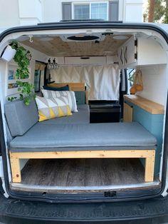 Mini Camper, Camper Life, Truck Camper, Mison, Caddy Van, Motorhome, Minivan Camper Conversion, Kangoo Camper, Build A Camper Van