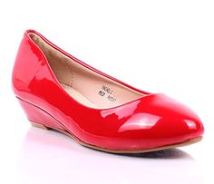 New Sexy Office Lady Fashion Faux Leather Slip on Wedges Platforms Womens Casual Low Heels Shoes Size New Without Box (7, Red) weyoh http://www.amazon.com/dp/B013WAKD2O/ref=cm_sw_r_pi_dp_3R.6wb1MBWNKH