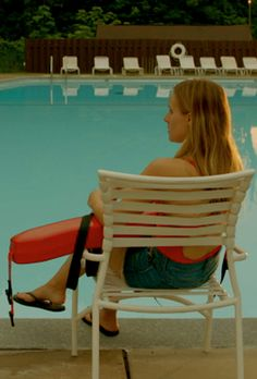 Check out Kristen Bell in the trailer for The Lifeguard