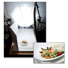 Using an off-camera flash for food photography.