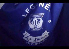 Con esta camiseta celebra el Leganés el ascenso a Primera