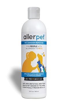 Allerpet Pet Dander Remover, 12 oz