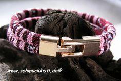 Wickelarmband ethno rosegold von www.Schmuckkistl.de auf DaWanda