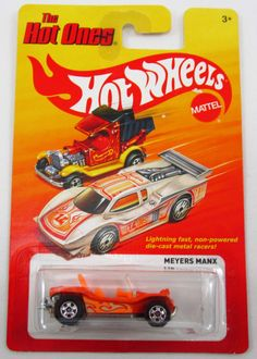 1:64 Scale Throw Back HOT WHEELS Die-Cast Vehicle. HOT WHEELS '80s Retro Assortment. Originally launched in 1981 (just a few short years past the end of the Redline era), The Hot Ones were fast and fa