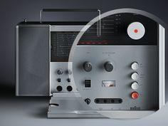 Braun radio T1000