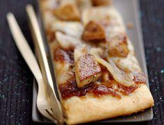 Voir la recette de la Pizza au foie gras