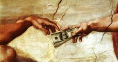 """Bible: """"The rich rule over the poor, and the borrower is servant to the lender. Proverbs 22:7"""""""