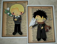HARRY POTTER   WaLL ArT  Your choice of sizes by PaintedByRenee, $64.00