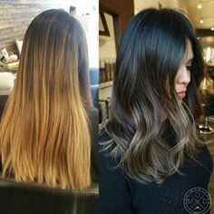We love this #transformation by @jakethegreat_88. For the how to,go to MODERNSALON.com and search Jake Tafoya.