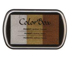 ColorBox Treasure 3-Color Metallic Ink Pad