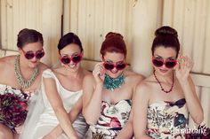 Chrissy and Patrick's Wedding – Berrima, Southern Highlands Heart Shaped Glasses, Bridesmaids, Bridesmaid Dresses, Quirky Wedding, Eclectic Style, Great Love, Highlands, Heart Shapes, Southern