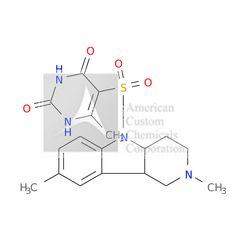 5-[(2,8-dimethyl-3,4,4a,9b-tetrahydro-1H-pyrido[4,3-b]indol-5-yl)sulfonyl]-6-methyl-1H-pyrimidine-2,4-dione is now  available at ACC Corporation