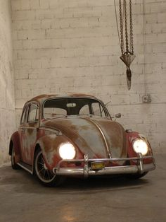 VW Bug....tastefully sun faded