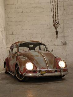 VW Bug....tastefully sun faded