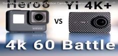 GoPro Hero6 vs Yi 4K+ vs Sony X3000 60fps Action Camera Comparison Video Review #gopro #Yi