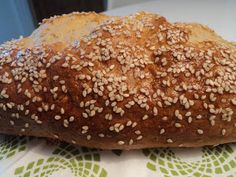 Det lille køkken: Sesam-kartoffelbrød