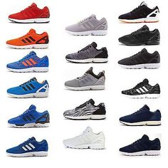 e1f76553fc9c Mens Adidas Originals ZX Flux Running Trainers All Sizes | Trainers | Men's  Shoes