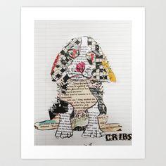 cribs Art Print by bri.buckley - $20.80 Deadpool Mask, Home Art, Painting & Drawing, Cribs, Art Prints, Drawings, Design, Cots, Art Impressions