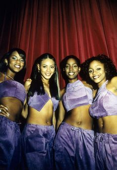 Destiny Child- The Originals 2000s Fashion, Hip Hop Fashion, Beyonce Knowles Carter, Elisabeth Ii, Black Girl Aesthetic, Destiny's Child, Black Girl Magic, Black Girls, Celebs