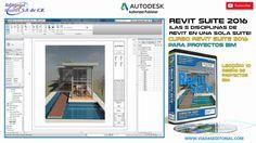 Revit Suite 2016 BIM Curso | Tutorial: Lección 10 Diseño de Proyectos