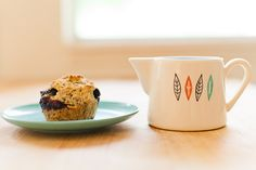 Perfect for all the fresh berries coming in season! Blueberry Flax Muffin Recipe