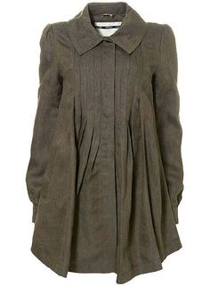 Untitled | pleated linen smock coat | By: a thousand black dreams | Flickr - Photo Sharing!