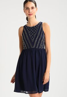 Zara robe courte bleu