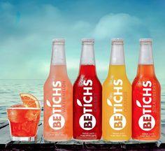 Bethics La marca di succhi di frutta e bevande Bethics nasce con l´intento di promuovere uno stile di vita sano senza rinunciare al gusto e il divertimento.  Progetto di Salvatore Gennaro Boccarossa.  Area: Graphic Design Categoria: Packaging