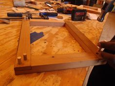 Teaching Traditional Woodworking - Lap Joint - Portman Workshop