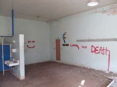A creepy abandoned school I checked out with Elder Rice on exchanges on Friday.