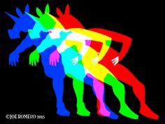 "Unicorn of the Day ""RGB Unicorn V02″   That's So Unicorny"