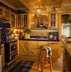 Country Style Kitchens | Country Style Kitchen, Charming Classic Kitchen DesignThe kitchen ...