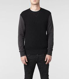 AllSaints Mather Crew | Mens Sweaters