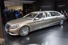 Mercedes-Benz has officially revealed the Mercedes-Maybach Pullman. Mercedes Benz Maybach, Mercedes 600, Maserati, Bugatti, Lamborghini, Ferrari, Audi, Porsche, Luxury Car Brands