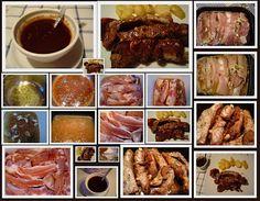 BBQ salsa Melassa e Bourbon con Barbecue di Costolette Marinate - http://cucinainmusica.blogspot.it/2012/04/bbq-salsa-melassa-e-bourbon-con.html