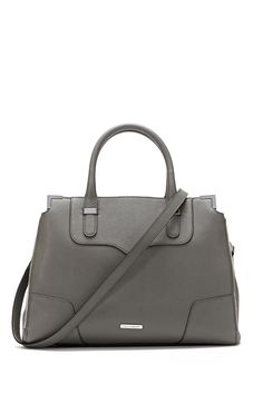 CHARCOAL AMOROUS Satchel by Rebecca Minkoff...on sale on the website!