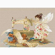 Needlework Fairy