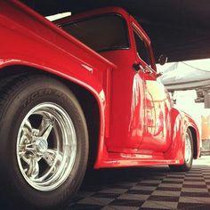 American Racing Wheels on Old School Pickup.  Phone Order: 800.290.1683  #AmericanRacing