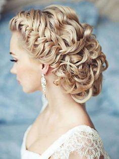 Elegant Up-Do #hairdo #hairideas #brides