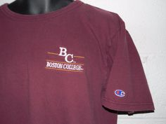 Vintage 90s Champion Boston College T-Shirt Large | Sports Mem, Cards & Fan Shop, Fan Apparel & Souvenirs, College-NCAA | eBay!
