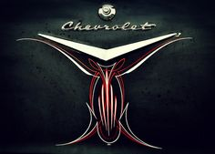 Pinstriped Chevy | Flickr - Photo Sharing!