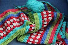 new stripey blanket started | little woollie | Flickr