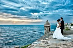 Destination Spotlight: Puerto Rico. Incredible photo of a wedding in #PuertoRico.